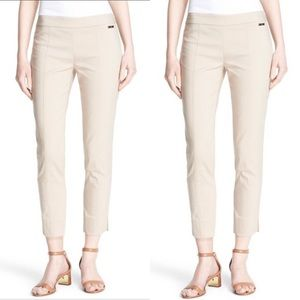 Tory Burch tan Callie pants Sz 8